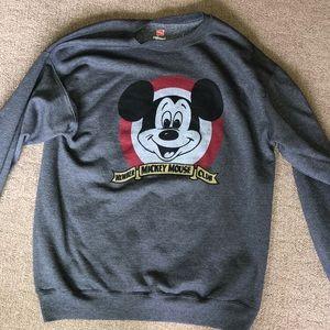 Disneyland Mickey Mouse Club Sweatshirt